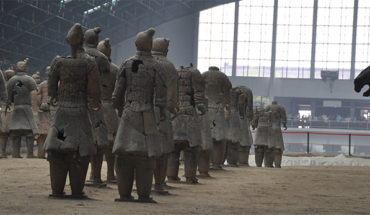 terra cotta army, ancient china,